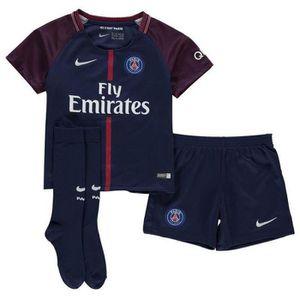 MAILLOT DE FOOTBALL Nouveau Mini-Kit Officiel Enfant Nike Paris Saint-