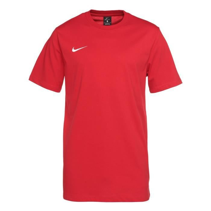 NIKE Maillot thermolactyl manche courte Club blend tee - Rouge