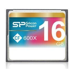 SILICON POWER Carte mémoire Compact Flash 600X - 16 Go