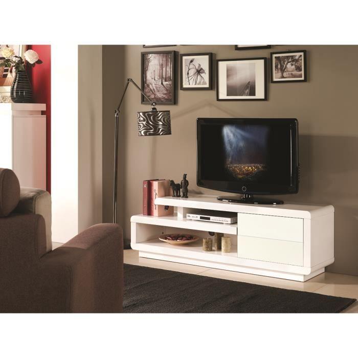 Meuble Tv Laque Blanc Binche Meuble Ultra Design Et Tendance Pour
