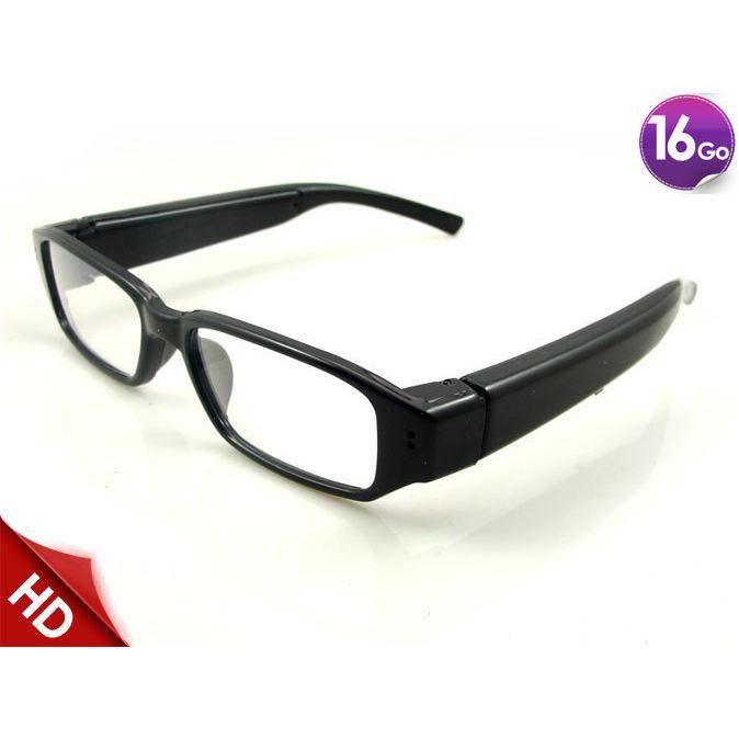 Lunettes caméra espion invisible 16 Go HD 720p - Achat   Vente ... 06e3e8fc63ab