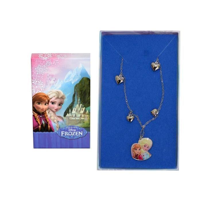 Disney Frozen Collier avec pendentif en édition limitée Anna et Elsa