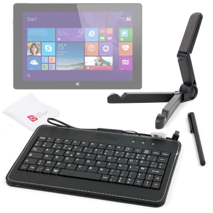 486f66984de Clavier AZERTY pour tablette Auchan Qilive Q4 Android 8