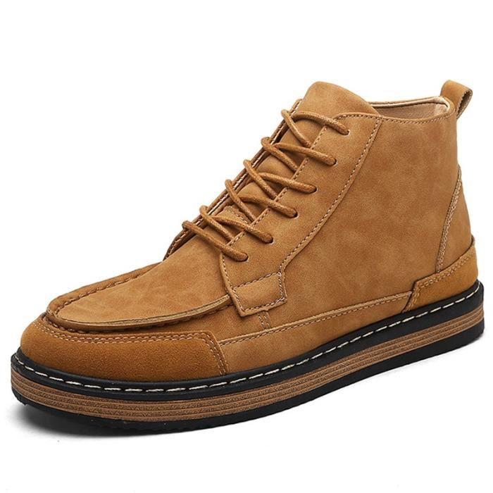 étudiants Homme Vintage Haut Accru jaune desHaut interne taille41 Les Skate Botte qExwZnaSdw