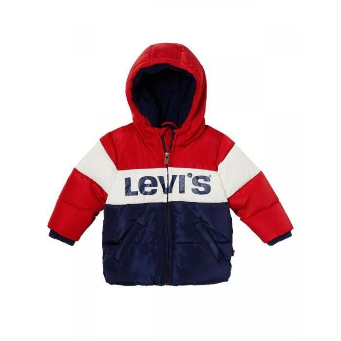 LEVI S - Doudoune imperméable à capuche bleu bébé garçon levi s Bleu ... f4843097452
