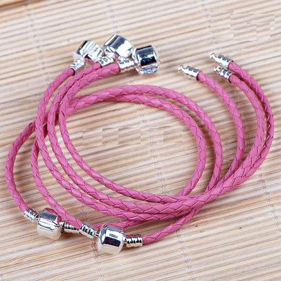 bracelet pandora breloques roses