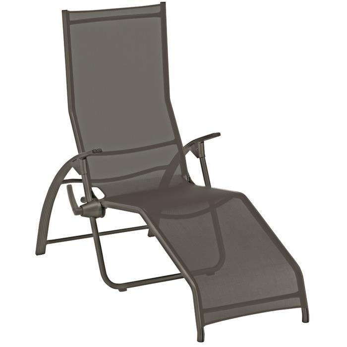 fauteuil relax pliant en aluminium textilene - Fauteuil Pliant Relax