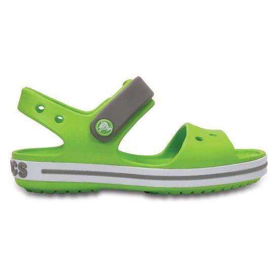 5638b9a6923b Chaussures enfant Sandales Crocs Crocband Sandal Kids Vert Vert - Achat    Vente sandale - nu-pieds - French Days dès le 26 avril ! Cdiscount