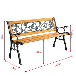 banc de jardin achat vente pas cher soldes d s le 10 janvier cdiscount. Black Bedroom Furniture Sets. Home Design Ideas