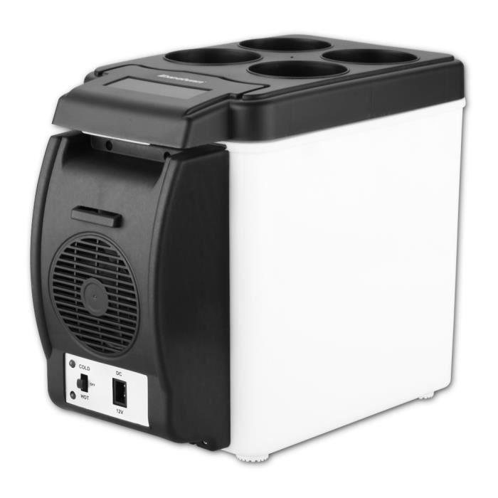 excelvan frigo electrique voiture 6l r frig rateur refroid. Black Bedroom Furniture Sets. Home Design Ideas