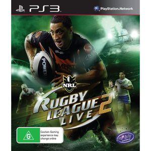 JEU PS3 SUPER RUGBY LEAGUE LIVE 2 / Jeu console PS3