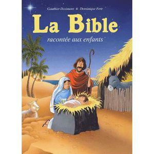 LIVRE RELIGION La Bible racontée aux enfants