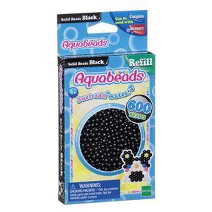 AQUABEADS Perles Classiques Noires