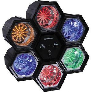 IBIZA Séquenceur de lumi?re 6 modules LED