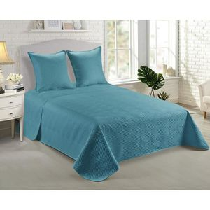 Couvre lit turquoise   Achat / Vente Couvre lit turquoise pas cher