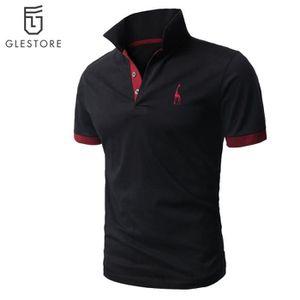 POLO Vêtement Homme Polo de mode Chemise noir