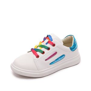 Boy - Baskets mode fille motif rayé color block Chaussures enfants 7539716 d03g7TjspP