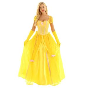 Perruques, barbes, moustaches Perruque blonde SANG GOUTTE Adulte Femme Halloween Smiffys Costume Robe fantaisie