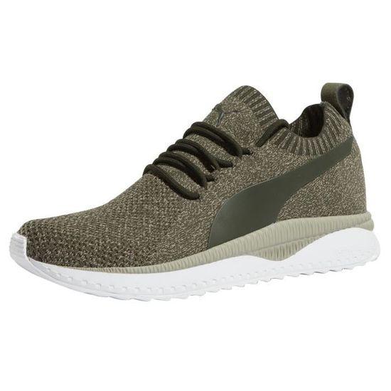 Puma Homme Chaussures Baskets Tsugi Apex EvoKnit Vert Vert