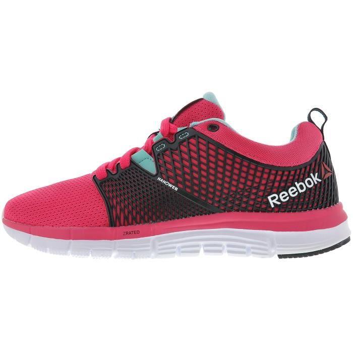 REEBOK Chaussures de Running Zquick Dash Rose Femme