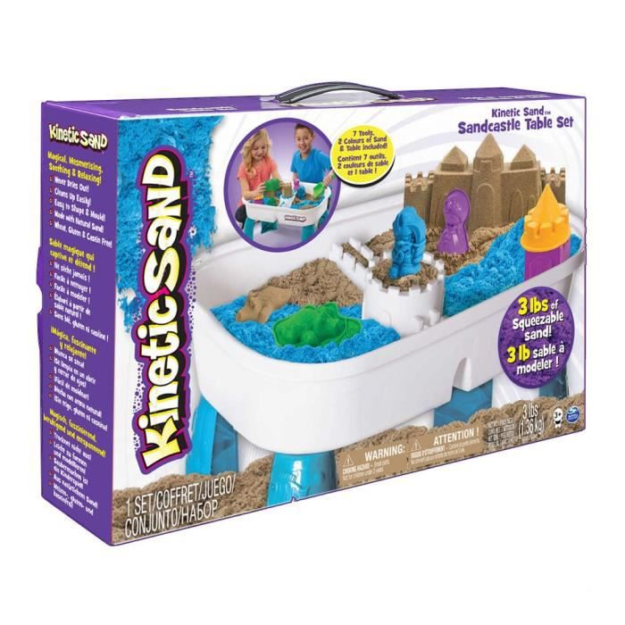 KINETIC SAND Table D'Activites