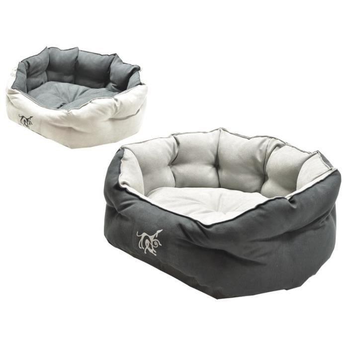 VADIGRAN Panier Softy pour chien gris/noir 45cm