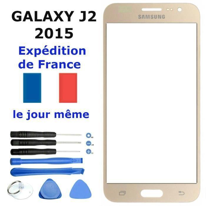 ECRAN DE TELEPHONE Vitre Avant Ecran Samsung GALAXY J2 OR