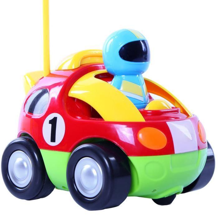 Belle voiture de course de dessin animé de RC avec la ...