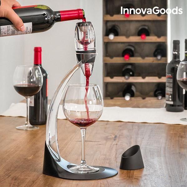 Aérateur de Vin sur Pied - Cadeau oenologie cave idée cadeau oxygéner 19ff963b8b1e