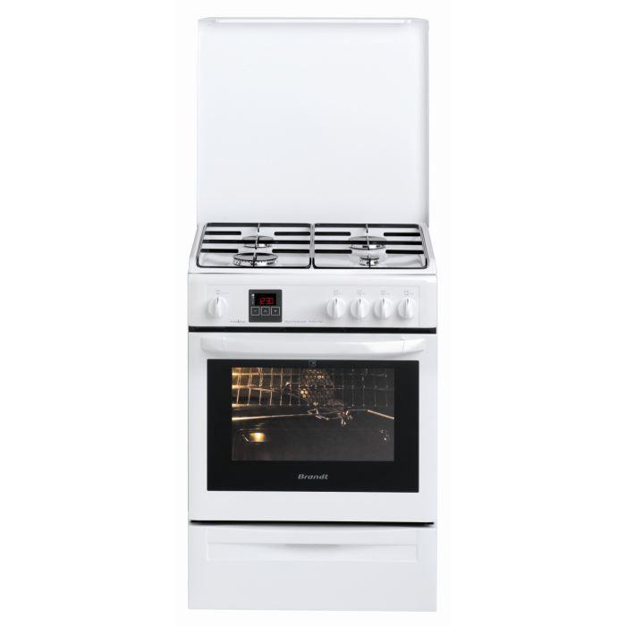BRANDT KGP 1010 W - Cuisinière gaz - Achat / Vente cuisinière ...