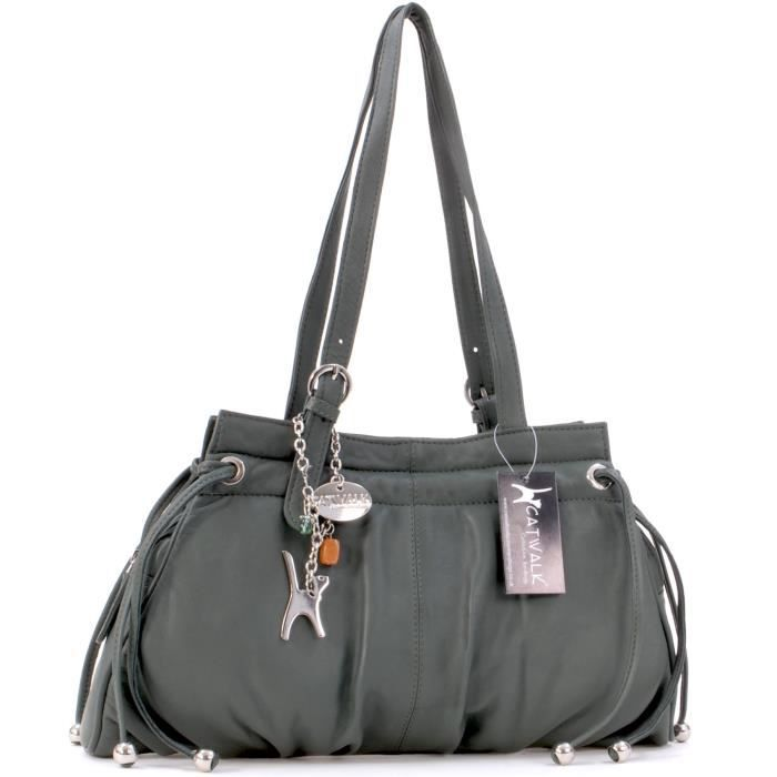 Catwalk Collection Handbags Catwalk Collection Leather Shoulder Bag - Alice 1WBSW6