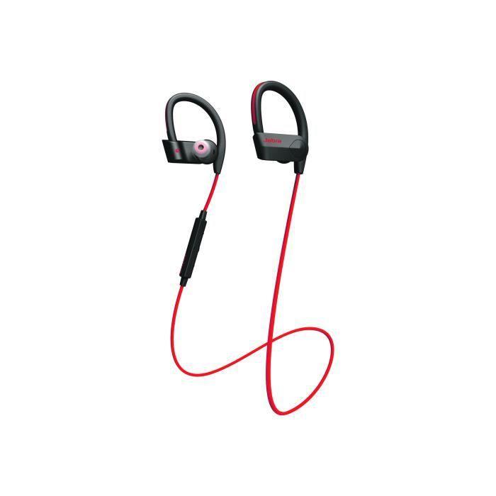 Jabra Sport Pace Écouteurs Avec Micro Intra-auriculaire Montage Sur L'oreille Sans Fil Bluetooth Rouge