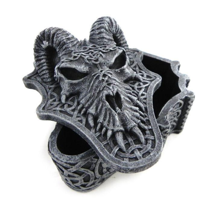 Coffret à Bijoux Dragon Mystique gris
