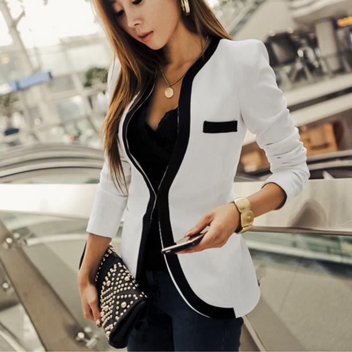 Veste ensemble classique pour femme