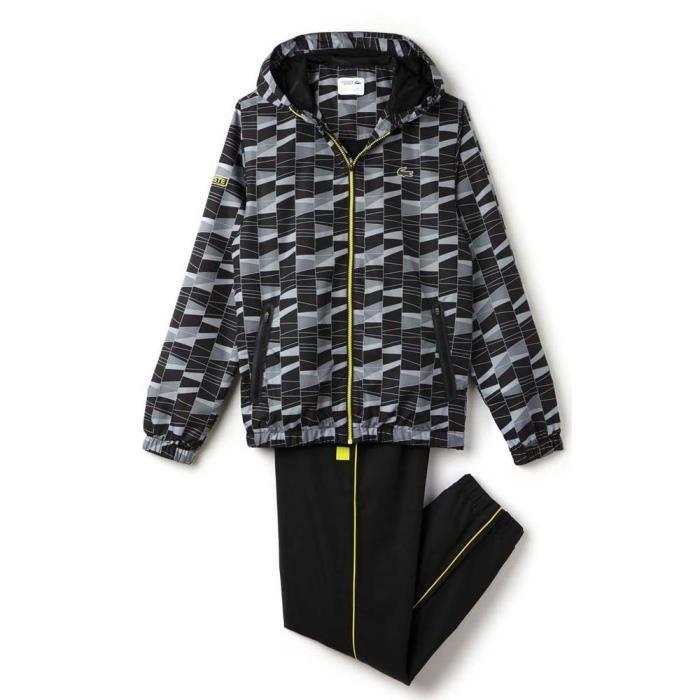 ab1d1758fc Vêtements homme Survêtements Lacoste Wh2127 Tracksuit Noir Noir ...