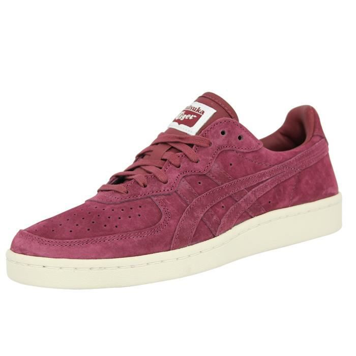 Asics Sneakers Mode Chaussures OnitsukaTiger GSM Suede Cuir Violet Homme rCwpqr1