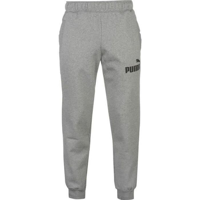 Puma No 1 Logo Pantalon De Survêtement Serré Homme Gris Gris - Achat ... 04cf6bb7df96