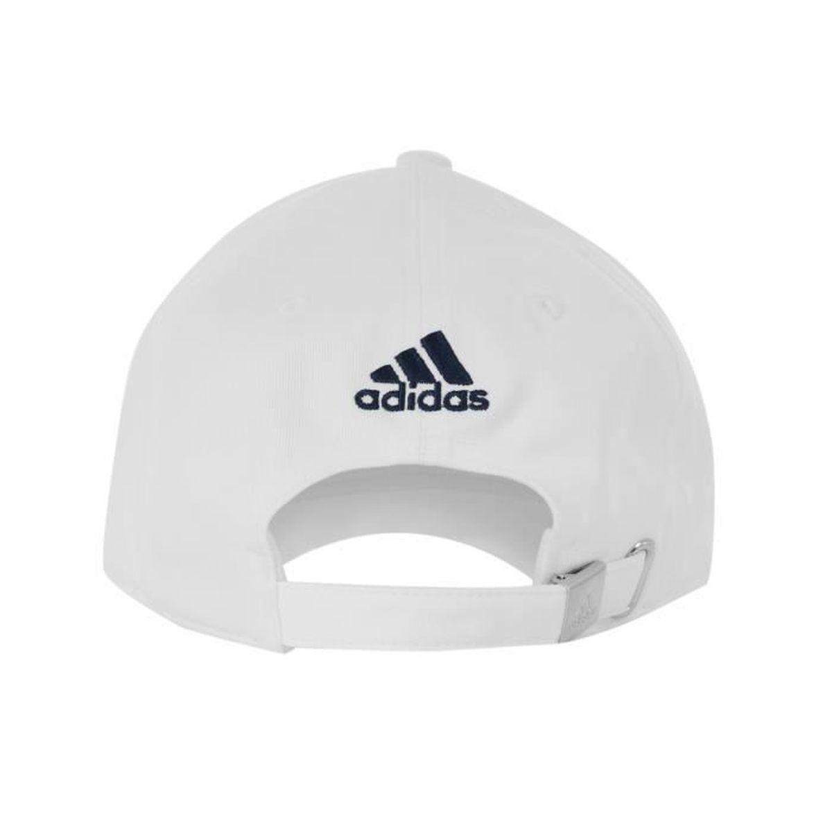 nouveaux prix plus bas brillance des couleurs détaillant en ligne Casquette adidas OM Blanc - Achat / Vente casquette ...