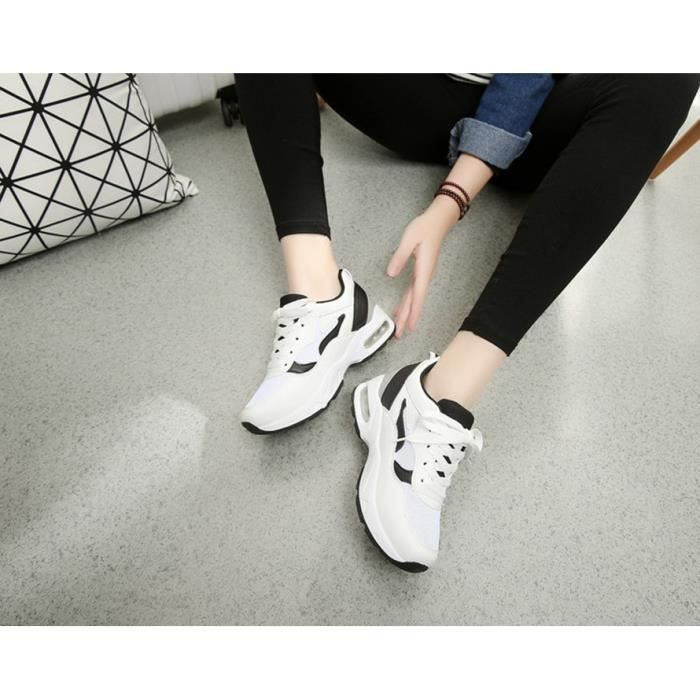 New spring summer sneakers respirant chaussures de sport lacets chaussures de course femme