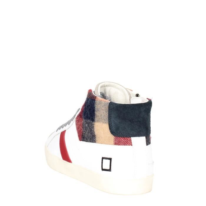 D.a.t.e. Sneakers Homme Blanc, 44