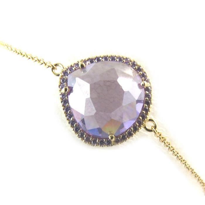 Altesse [N3265] - Bracelet plaqué or Sissi