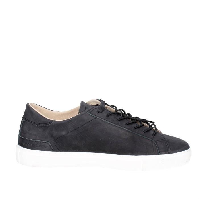 D.a.t.e. Petite Sneakers Homme Noir, 46