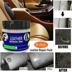 LINGETTE NETTOYANTE 3x reconditionnement cuir crème vinyle kit de répa