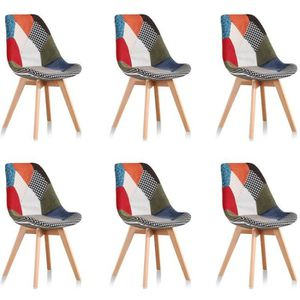 Chaises scandinave nature achat vente chaises for 6 chaises scandinaves