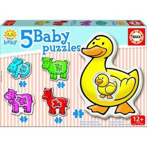 JEU D'APPRENTISSAGE EDUCA Baby Puzzles La Ferme