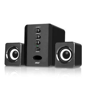ENCEINTES Filaire Combinaison Haut-parleurs D'ordinateur Bas