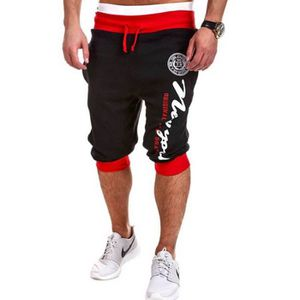 PANTACOURT Pantacourt Homme Jogger Impression Relaxed Jogging