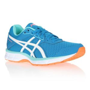 CHAUSSURES DE RUNNING ASICS Baskets de Running Galaxy - Femme - Bleu ... 1a515be636a