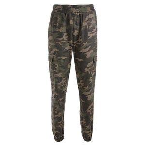 Pantalon femme taille haute coupe droite - Achat / Vente pas cher