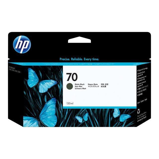 HP Cartouche d'encre 70 - Pack de 1 - Noir
